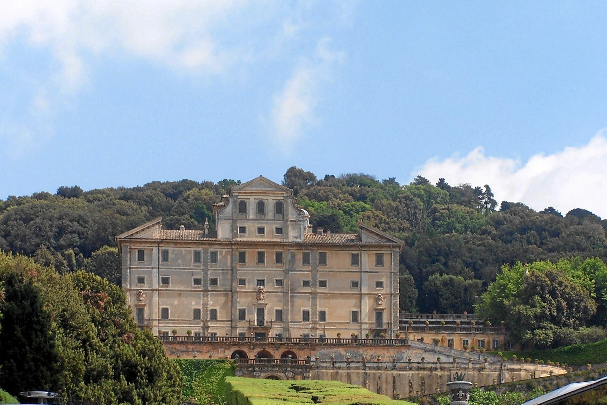 Villa Aldobrandini, Frascati, Latium, Italien