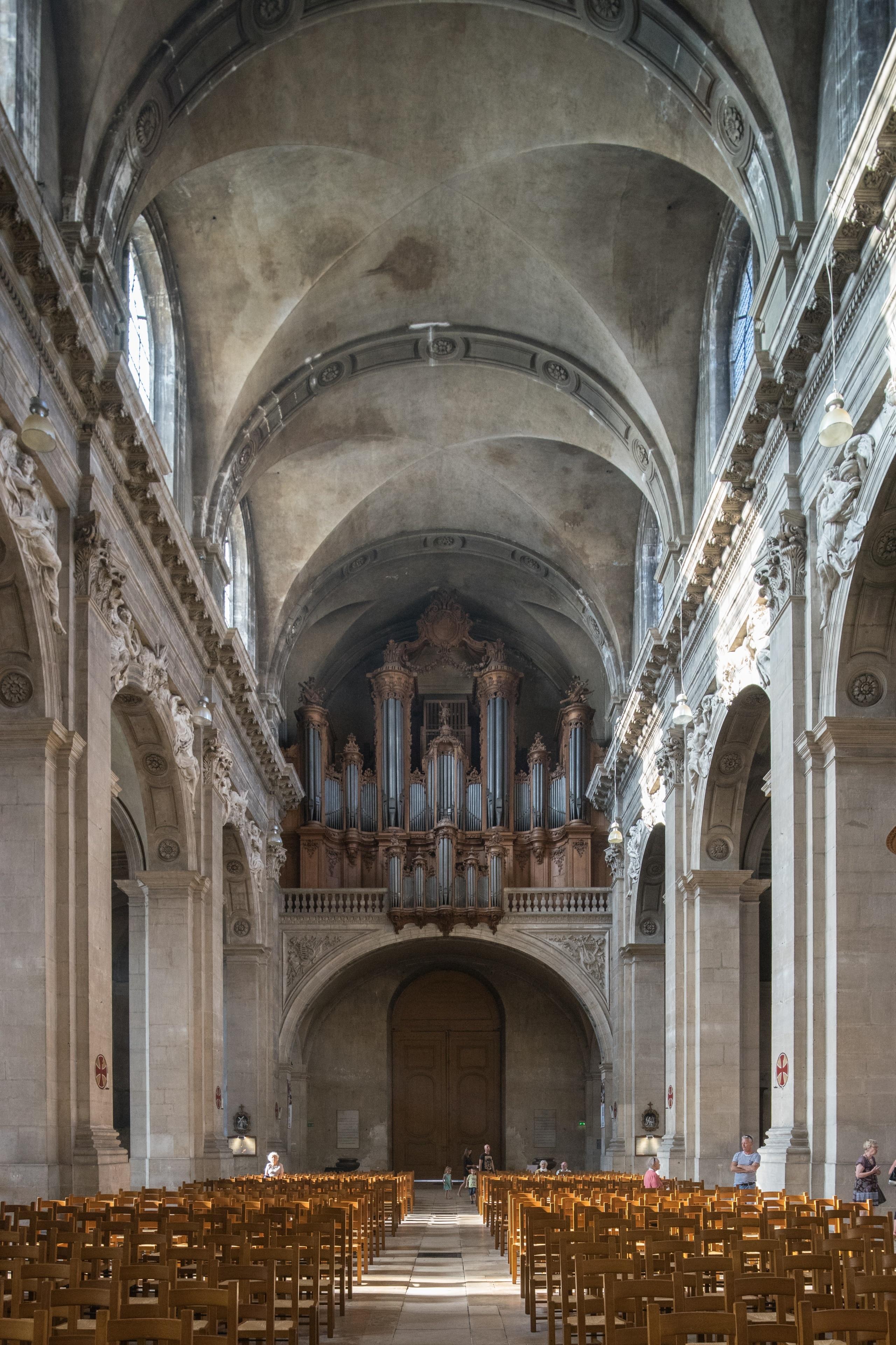 Kathedrale von Nancy, Nancy, Meurthe-et-Moselle (Department), Frankreich