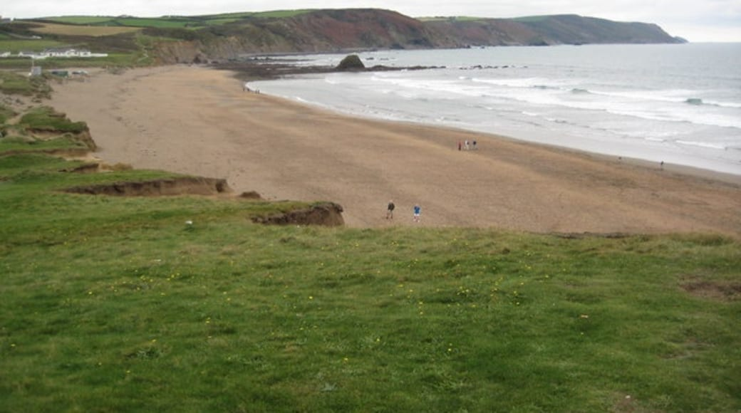"""Photo """"Widemouth Bay Beach"""" by Philip Halling (CC BY-SA) / Cropped from original"""