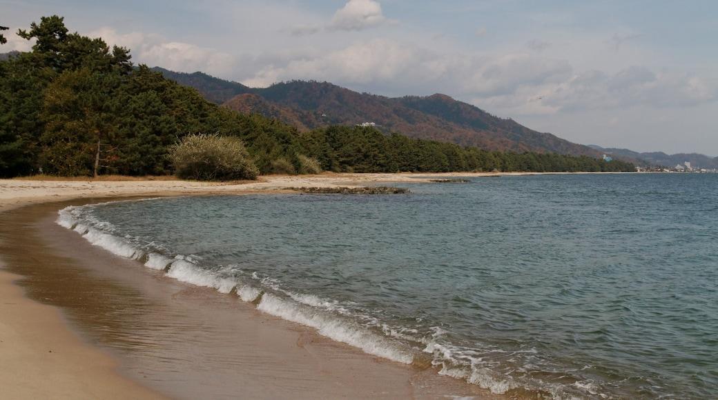 "Photo ""Amano Hashidate Beach"" by KimonBerlin (CC BY-SA) / Cropped from original"