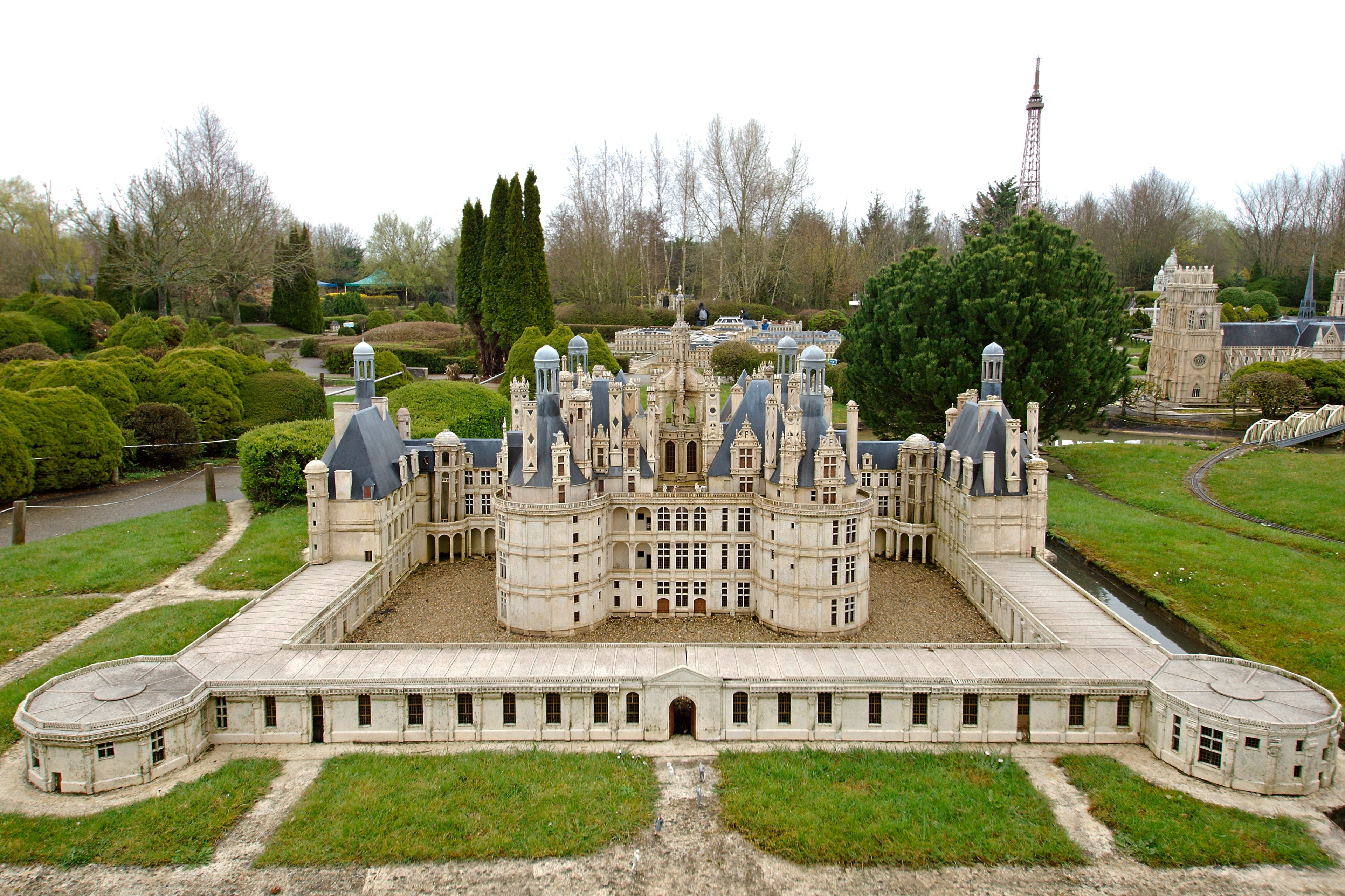 France Miniature, Elancourt, Yvelines, France