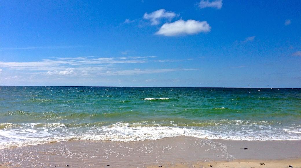 """Foto """"Strand von Westerland"""" von www.fleno.de (CC BY-SA)/zugeschnittenes Original"""