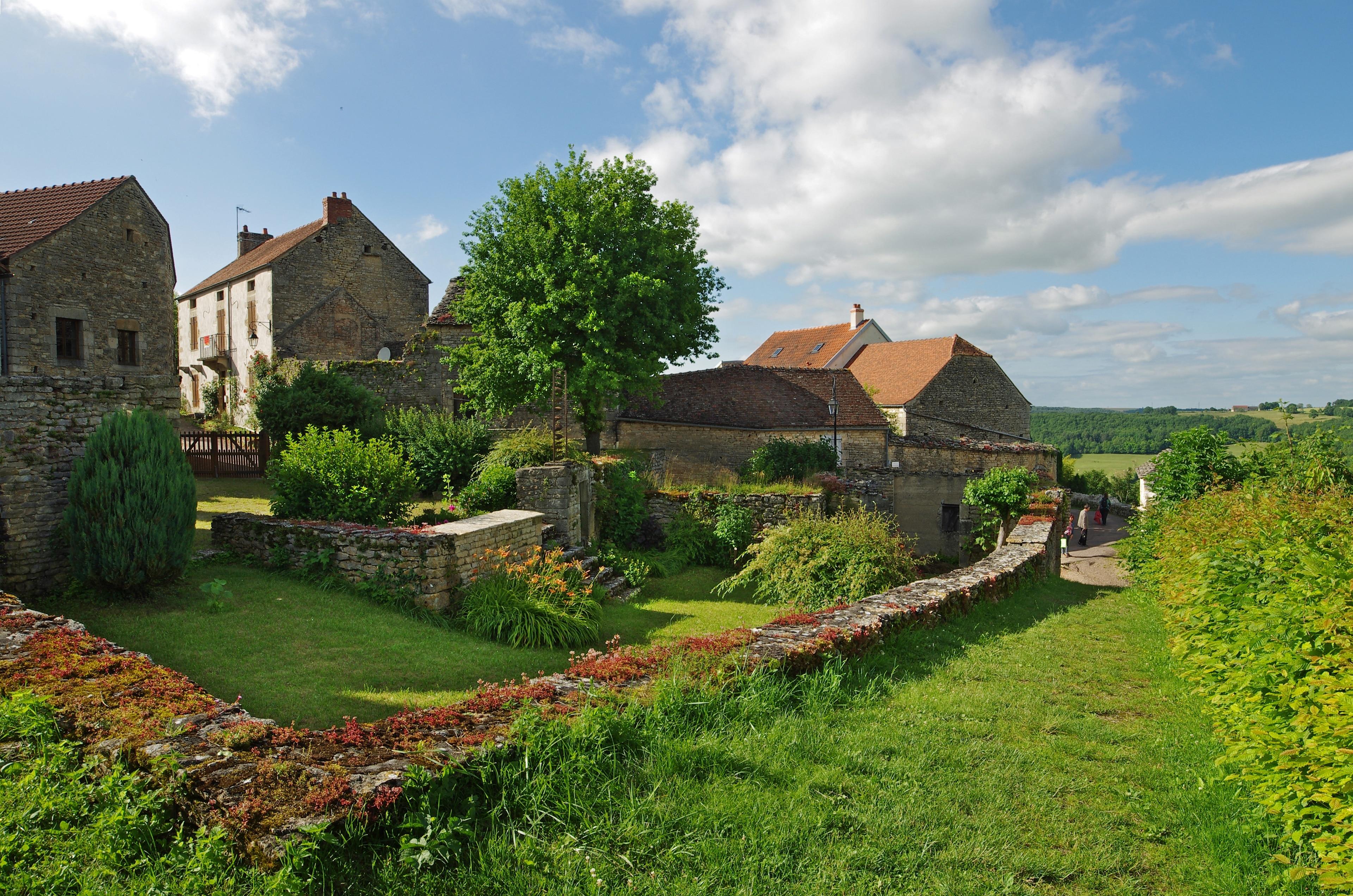 Flavigny-sur-Ozerain, Cote d'Or, France