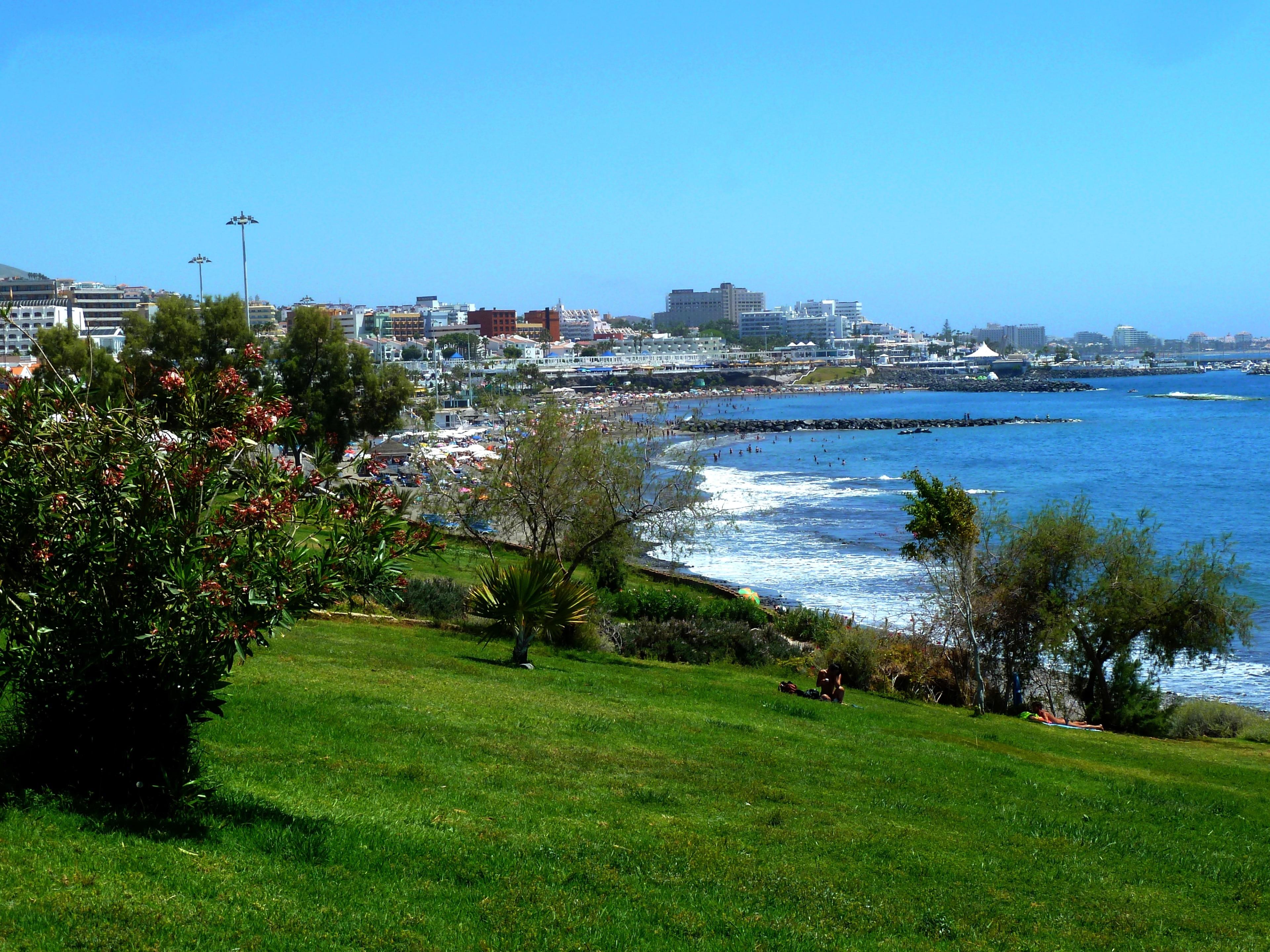 Playa de Fañabé, Adeje, Kanarische Inseln, Spanien