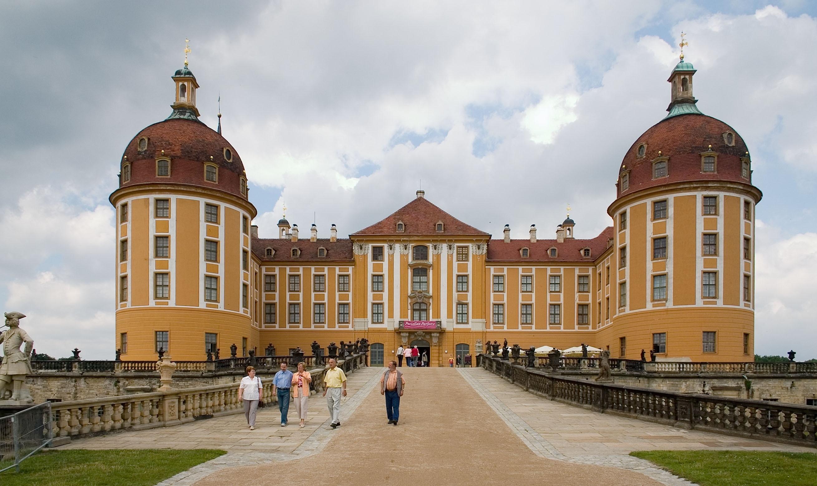 Schloss Moritzburg, Moritzburg, Sachsen, Deutschland