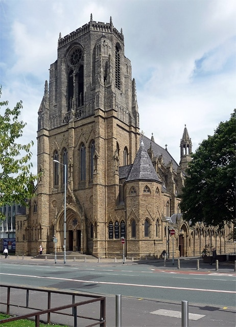Church of the Holy Name of Jesus, Manchester, England, Großbritannien