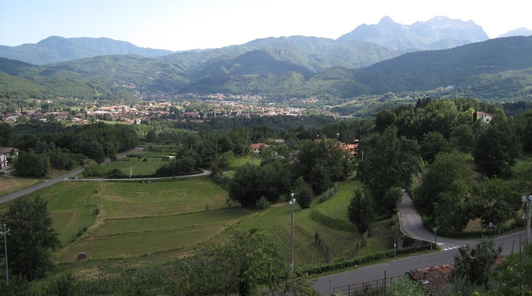 """Foto """"Castiglione di Garfagnana"""" di trukdotcom (CC BY-SA) / Ritaglio dell'originale"""