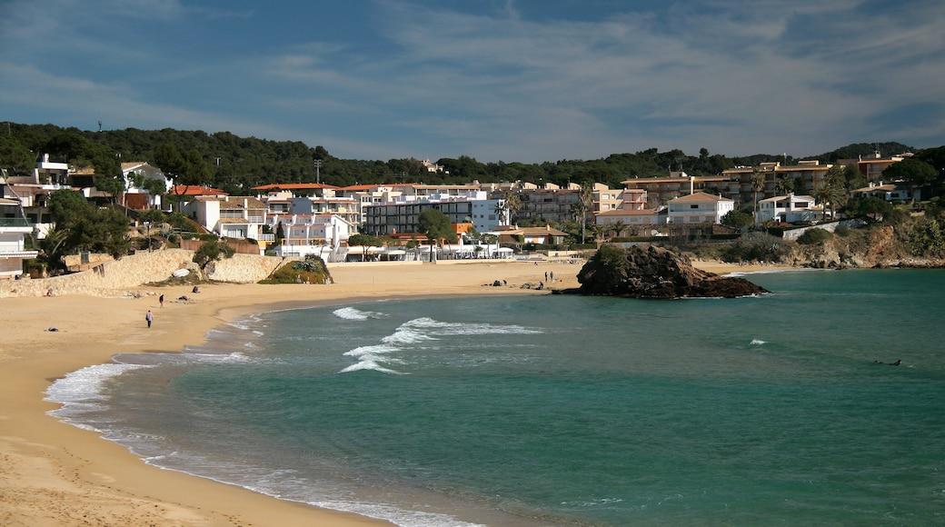 """""""Playa de La Fosca""""-foto av Jorge Franganillo (CC BY) / Urklipp från original"""