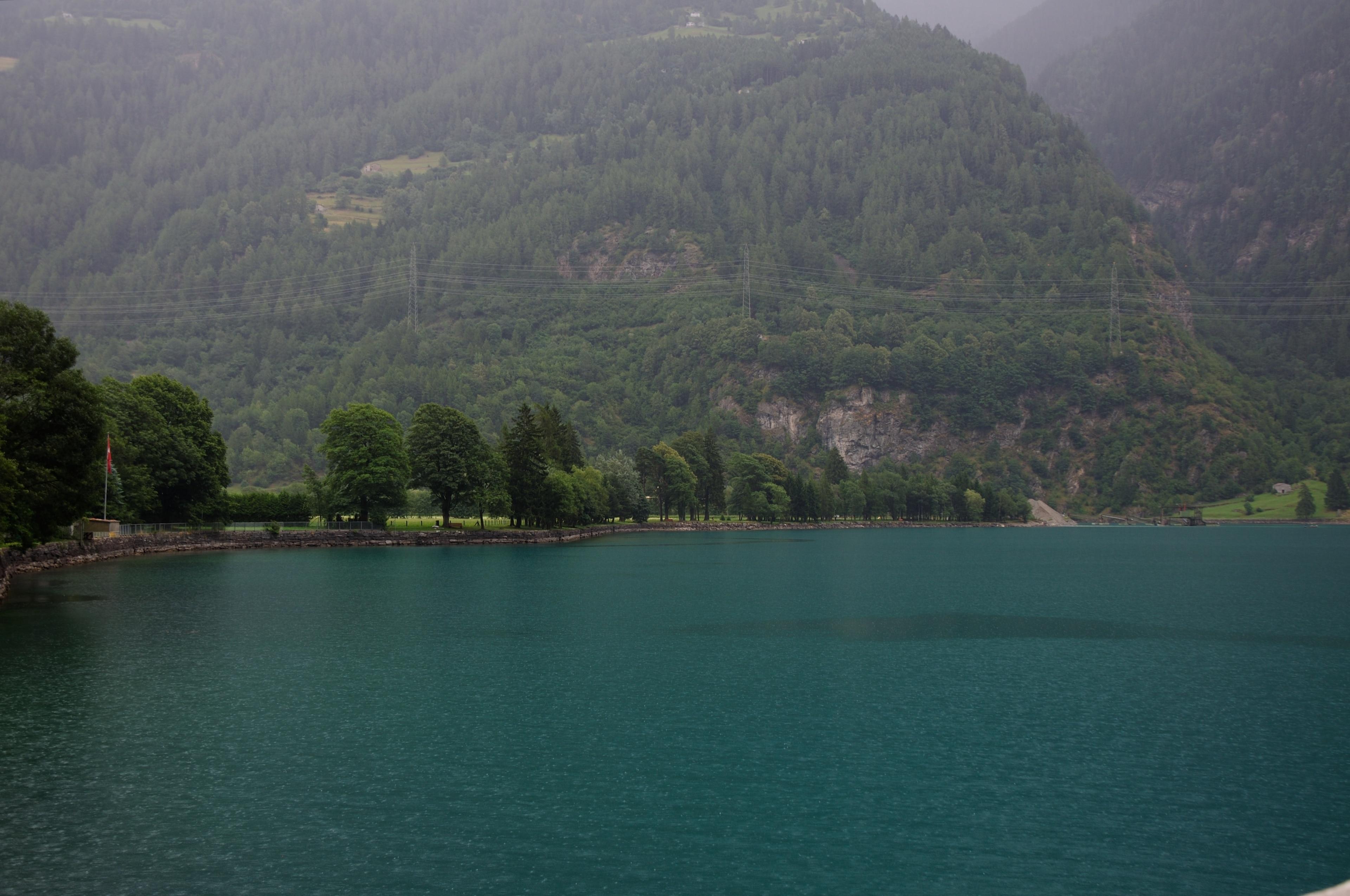 Le Prese, Poschiavo, Graubuenden, Switzerland