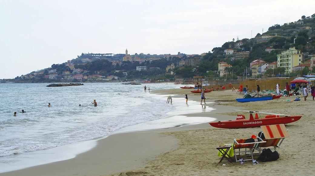 "Photo ""Arma di Taggia Beach"" by Mika Auramo (CC BY) / Cropped from original"