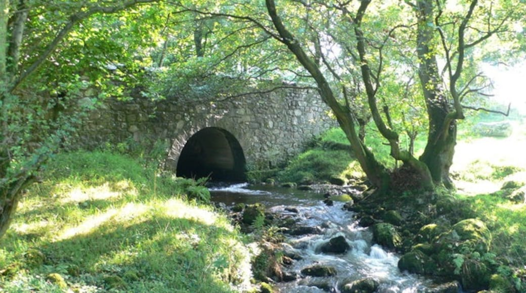 """Foto """"Llanrhaeadr-ym-Mochnant"""" von Eirian Evans (CC BY-SA)/zugeschnittenes Original"""