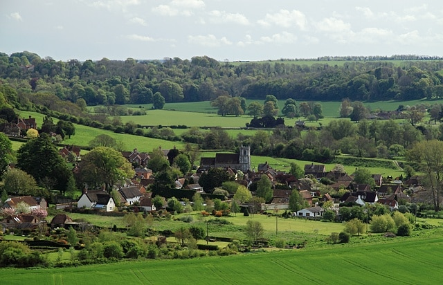 Blandford Forum, England, Storbritannien