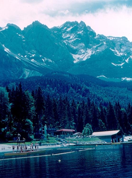 Zugspitze Ski Resort, Bavaria, Germany