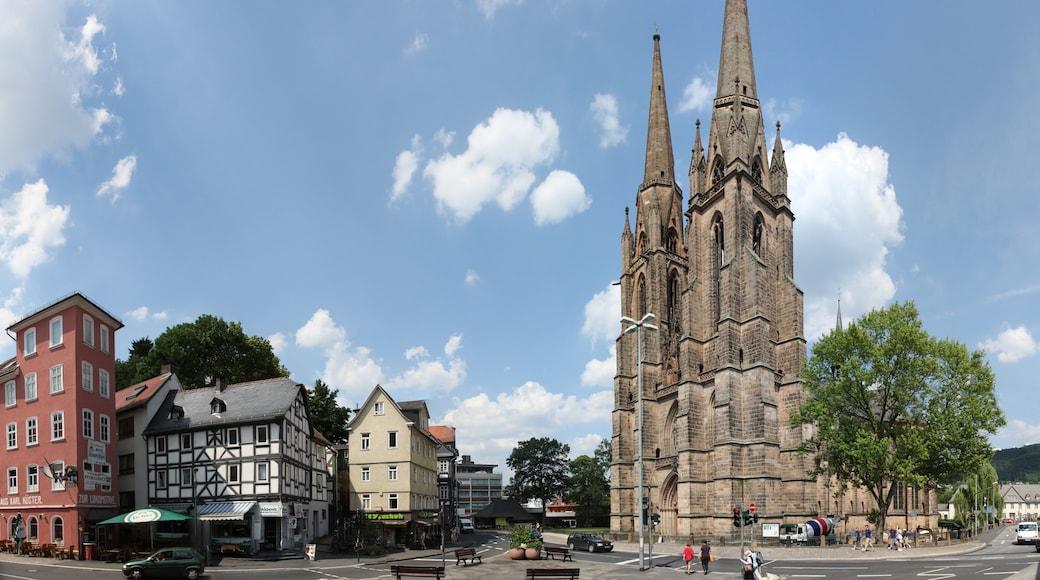 """Foto """"Elisabethkirche"""" von Andreas Trepte (CC BY-SA)/zugeschnittenes Original"""