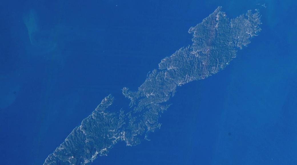 Tsushima Island, located in Nagasaki Prefecture, Japan.