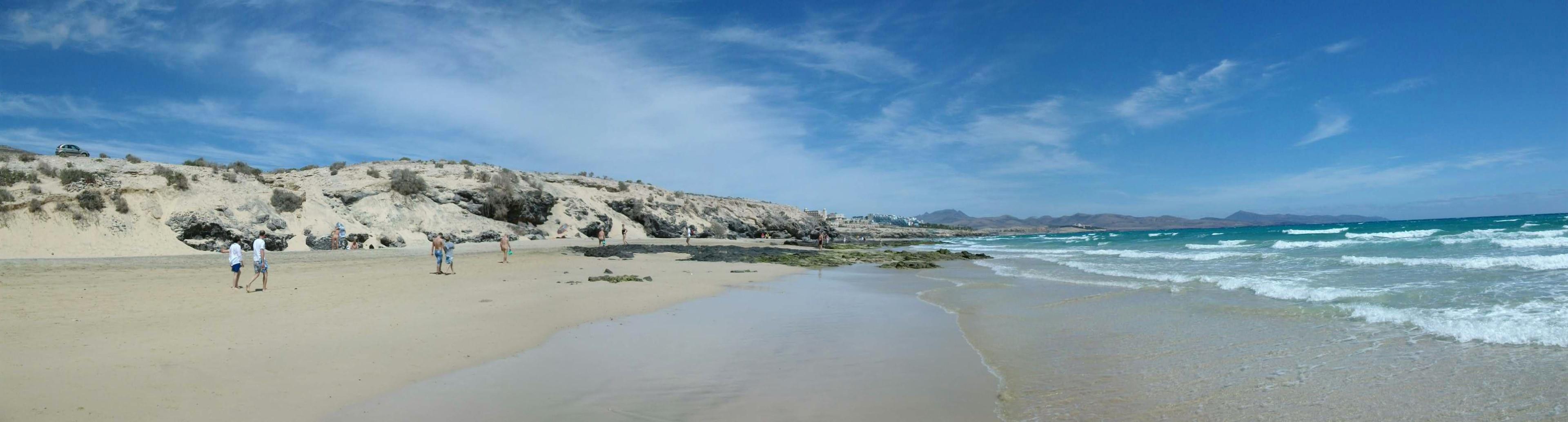 Playa Esmeralda South, Pajara, Canary Islands, Spain