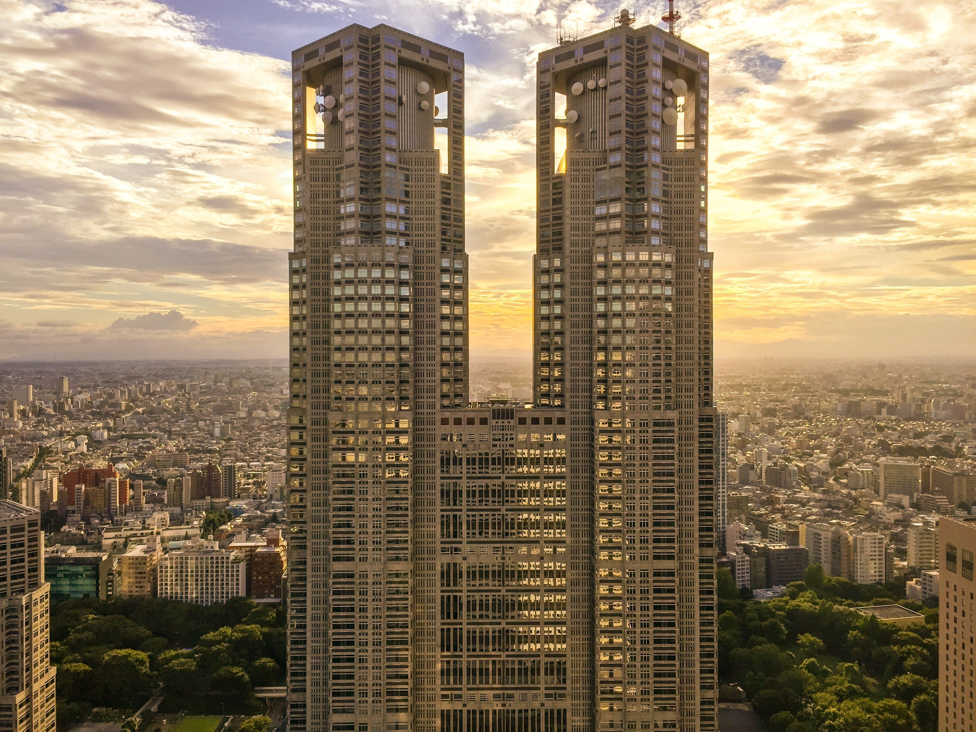 Regierungsgebäude der Präfektur Tokio, Tokio, Tokio (Präfektur), Japan