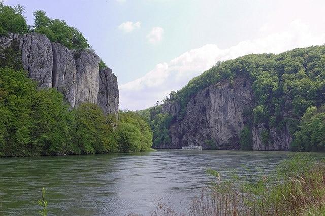 Donaudurchbruch, Kelheim, Bayern, Deutschland