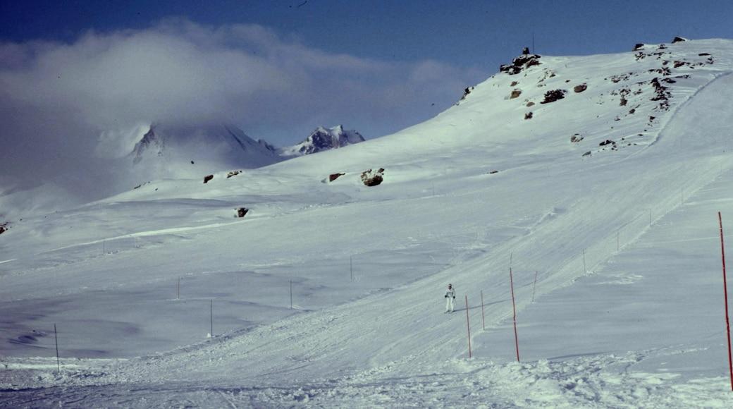 «Station de ski de La Rosière - Espace San Bernardo», photo de rene boulay (CC BY-SA) / rognée de l'originale