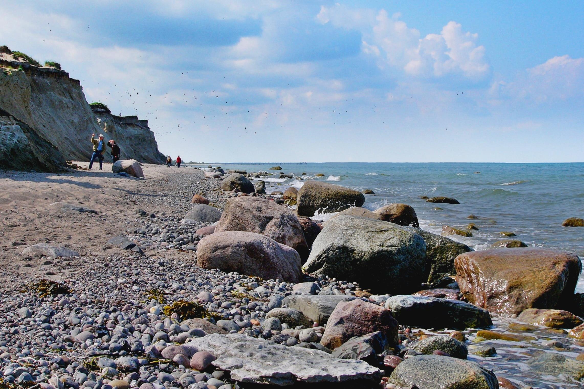 Strand Ahrenshoop, Ostseebad Ahrenshoop, Mecklenburg - Voor-Pommern, Duitsland