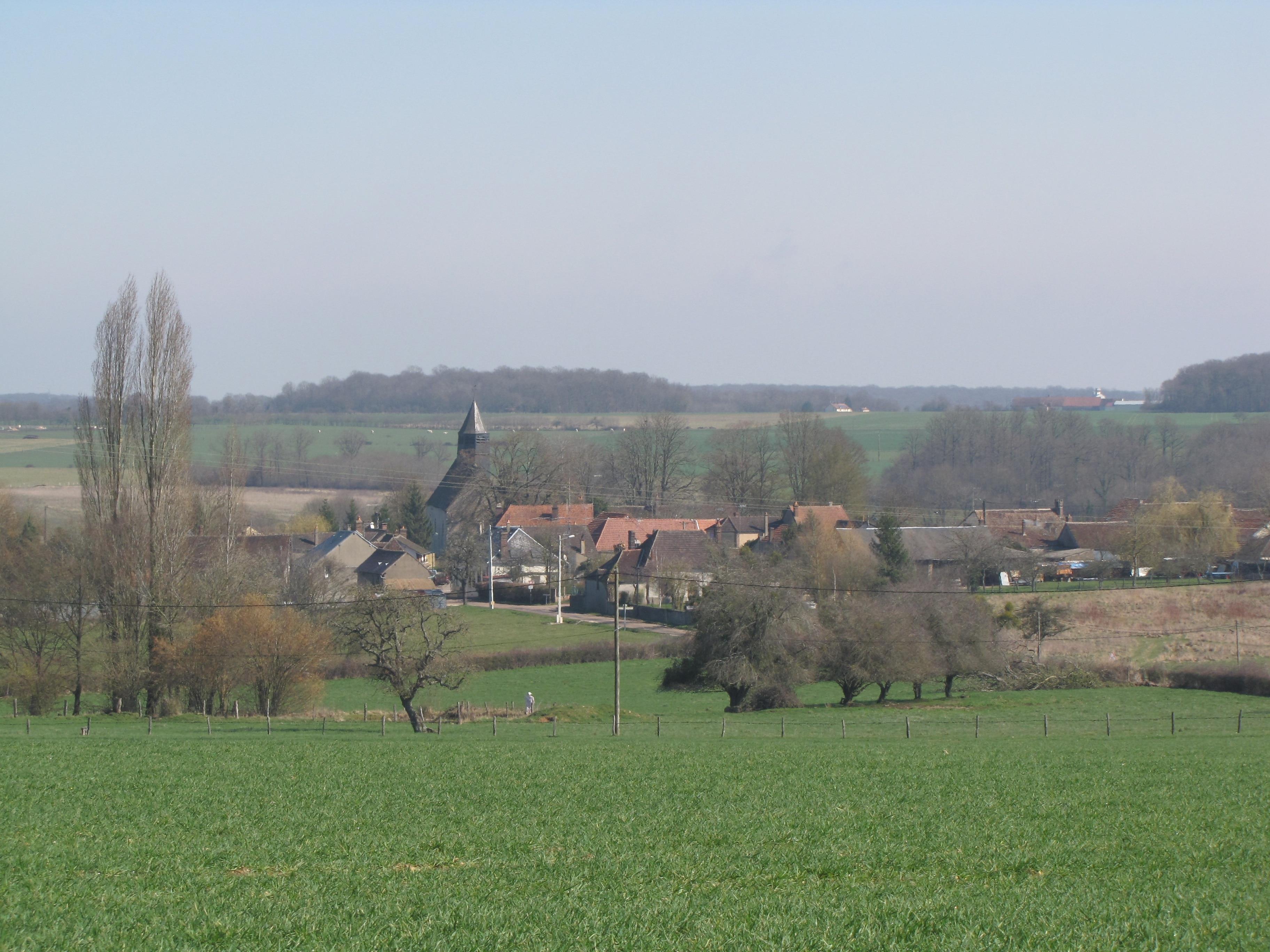 Charny-Oree-de-Puisaye, Yonne, France