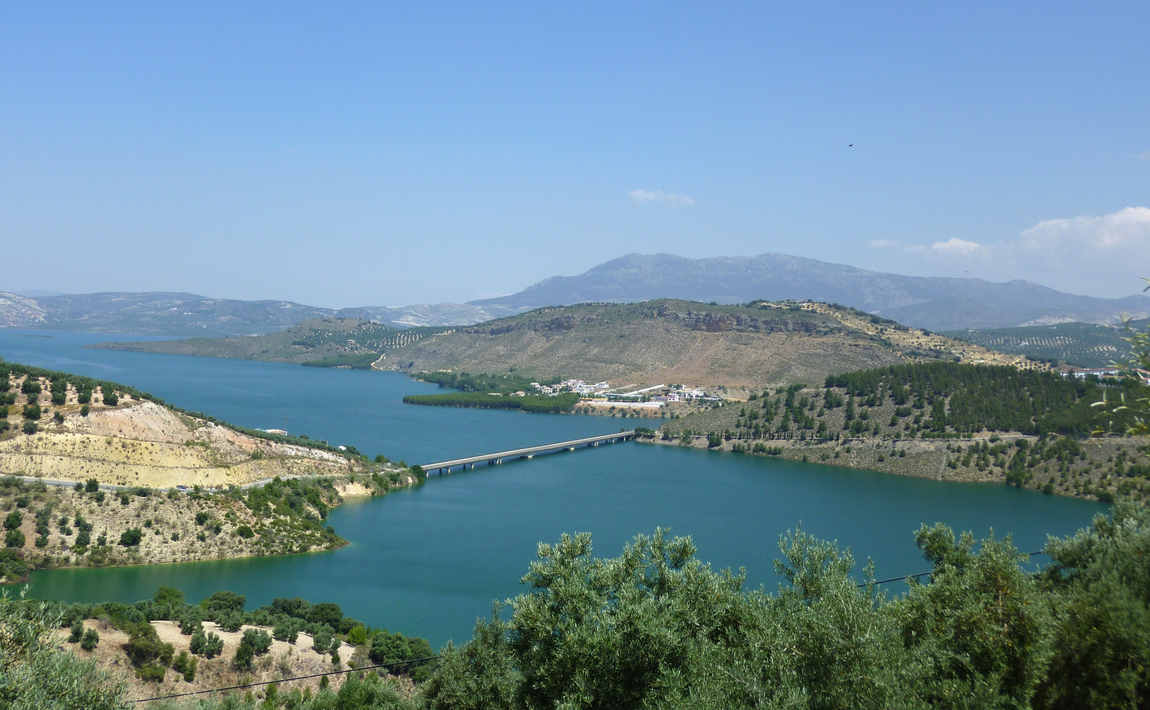 Iznájar, Andalusien, Spanien