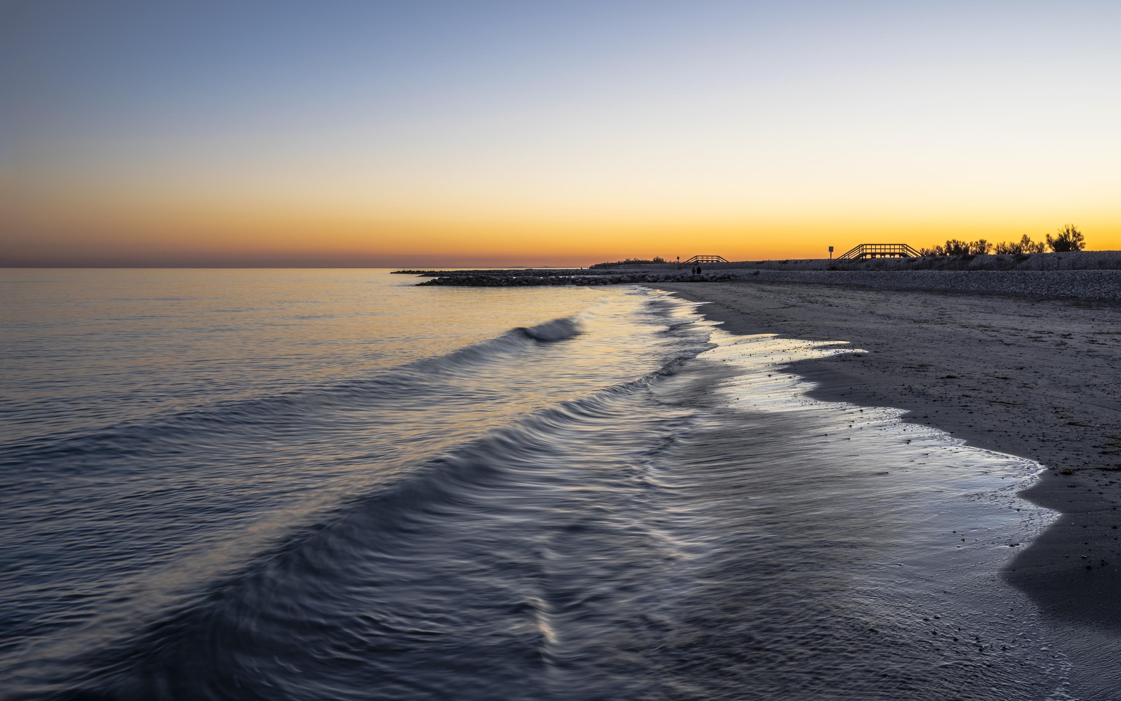 Aresquiers Beach, Frontignan, Herault, France