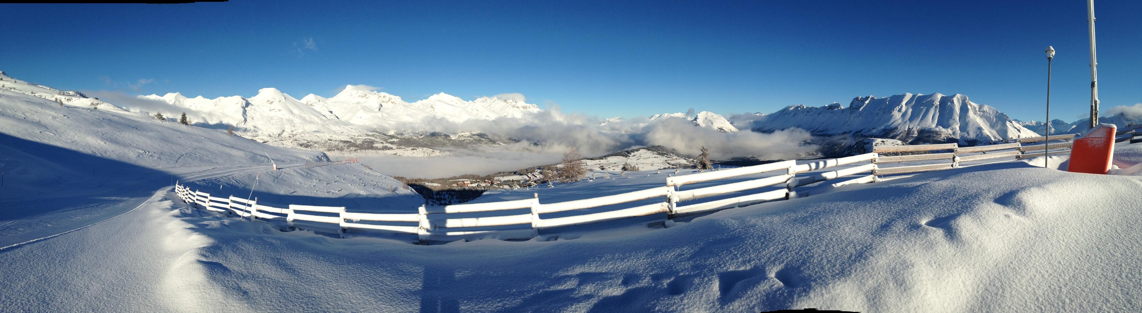 Superdevoluy Ski Resort, Le Dévoluy, Hautes-Alpes, France