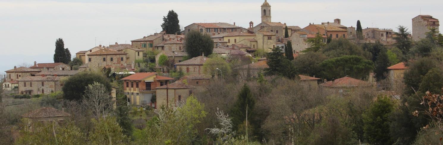 Montefollonico, İtalya