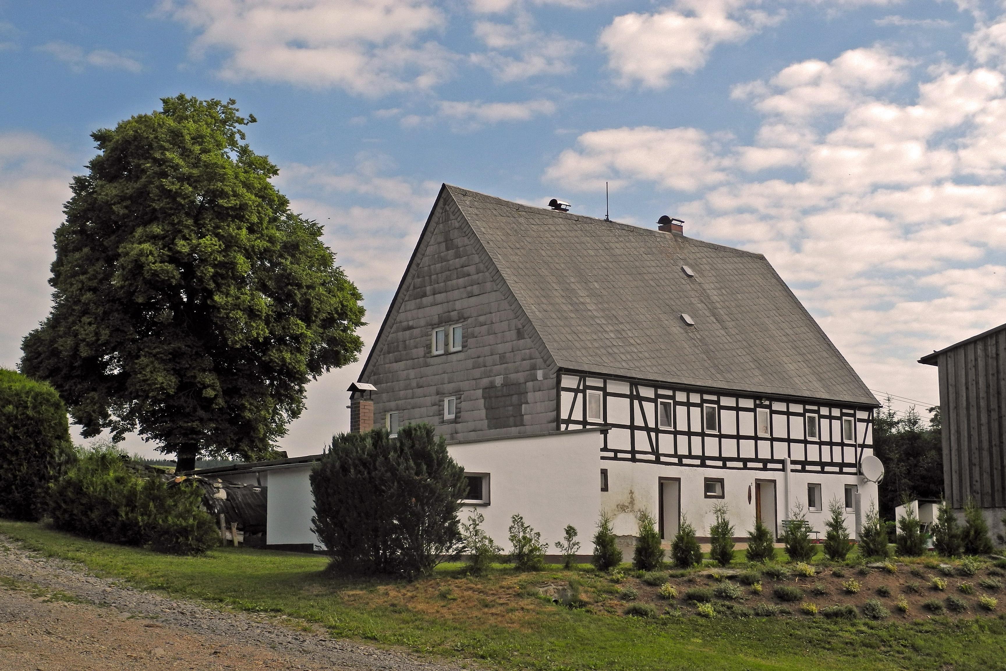 Pfaffroda, Olbernhau, Sachsen, Deutschland