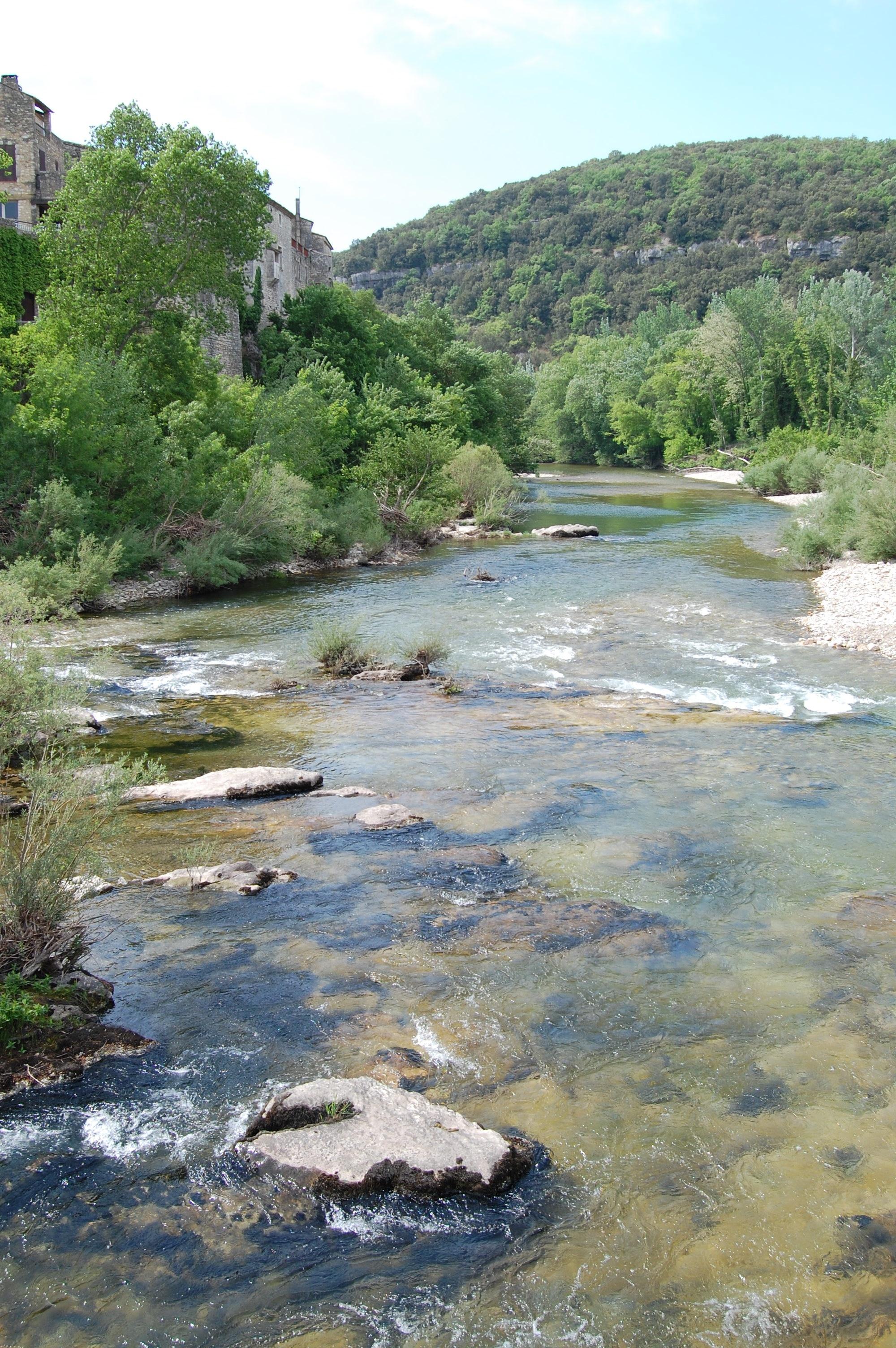 Montclus, Gard, Francia