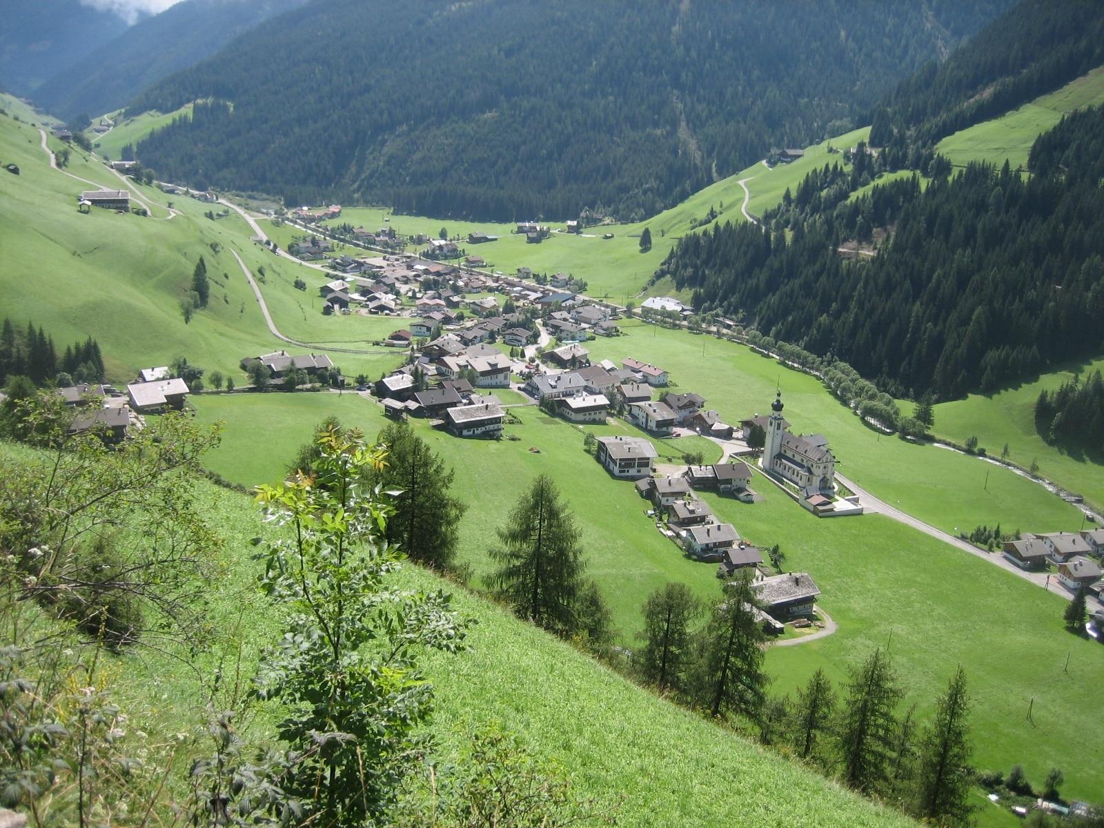 Innervillgraten, Tirol, Österreich