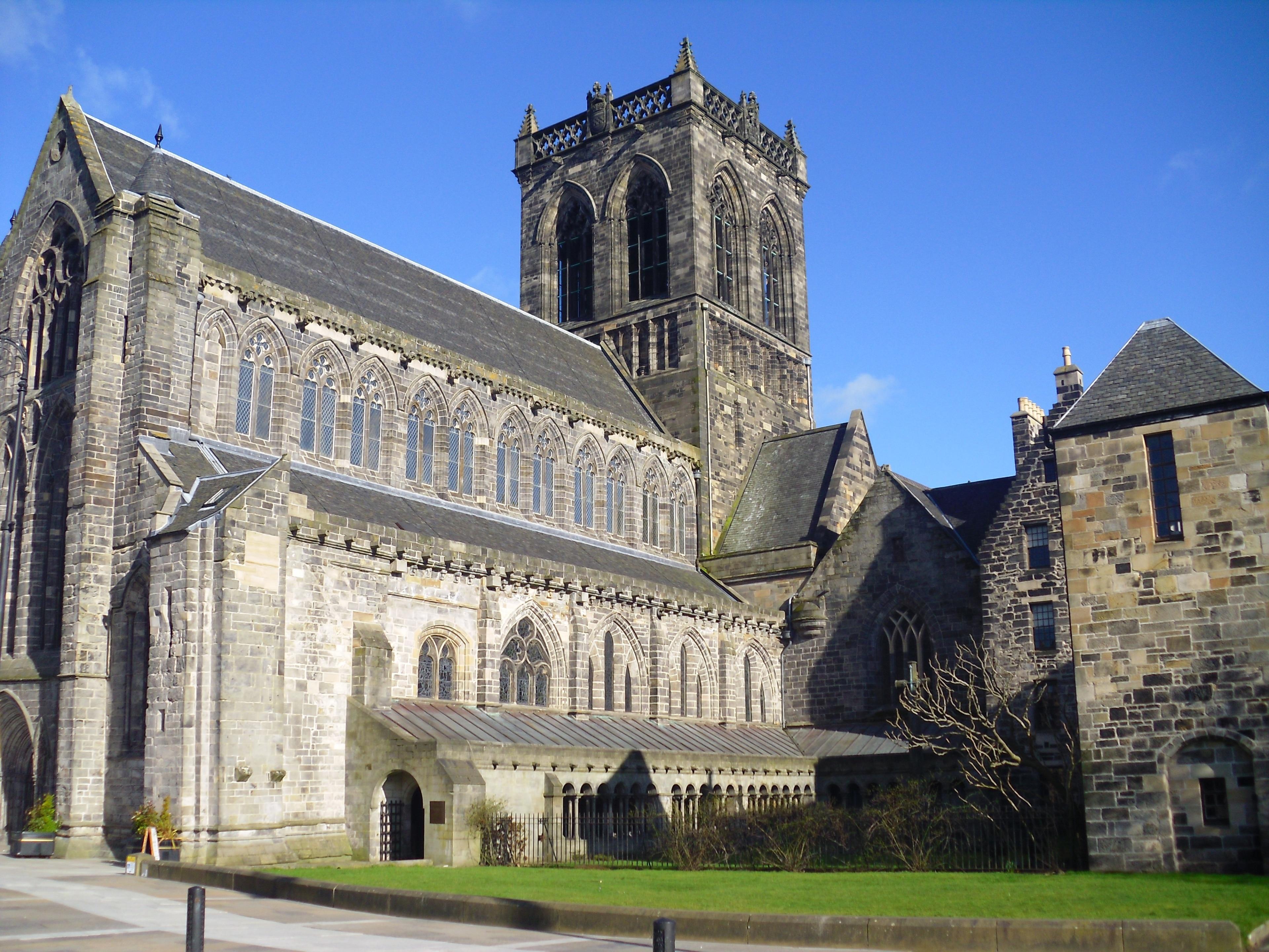 Paisley Abbey, Paisley, Scotland, United Kingdom
