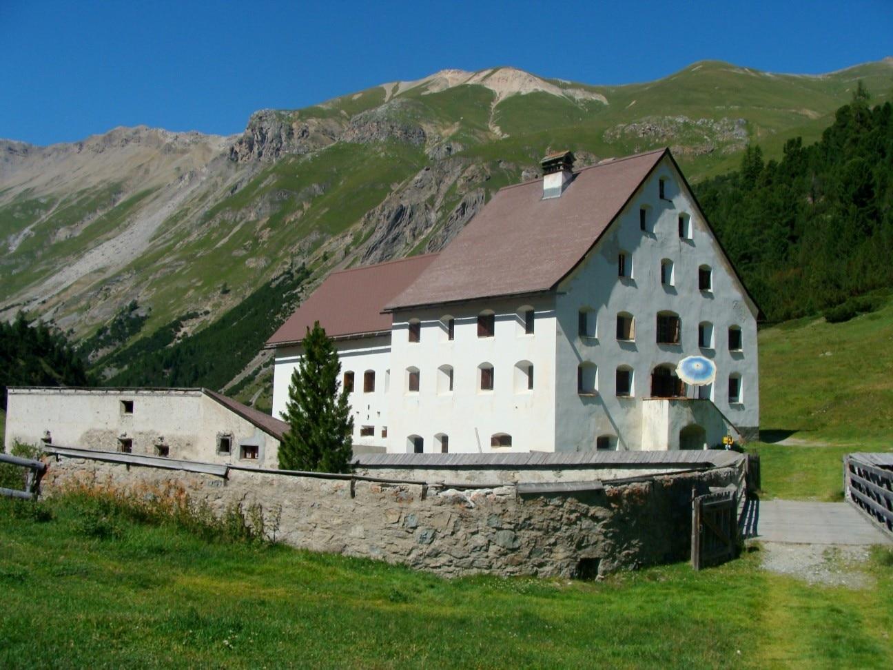 La Punt-Chamues-ch, Graubünden, Schweiz