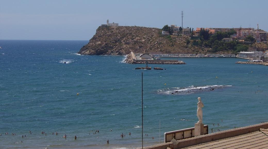 """Foto """"Puerto de Mazarron"""" von Ramon DE LA FUENTE (CC BY-SA)/zugeschnittenes Original"""