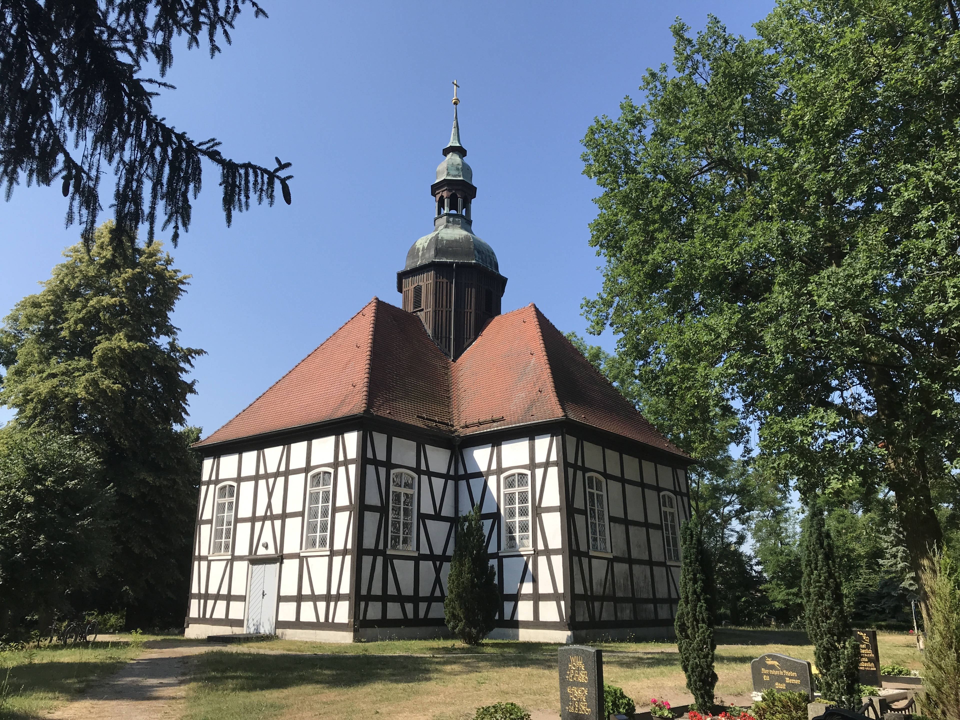 Krausnick-Groß Wasserburg, Brandenburg -regio, Duitsland