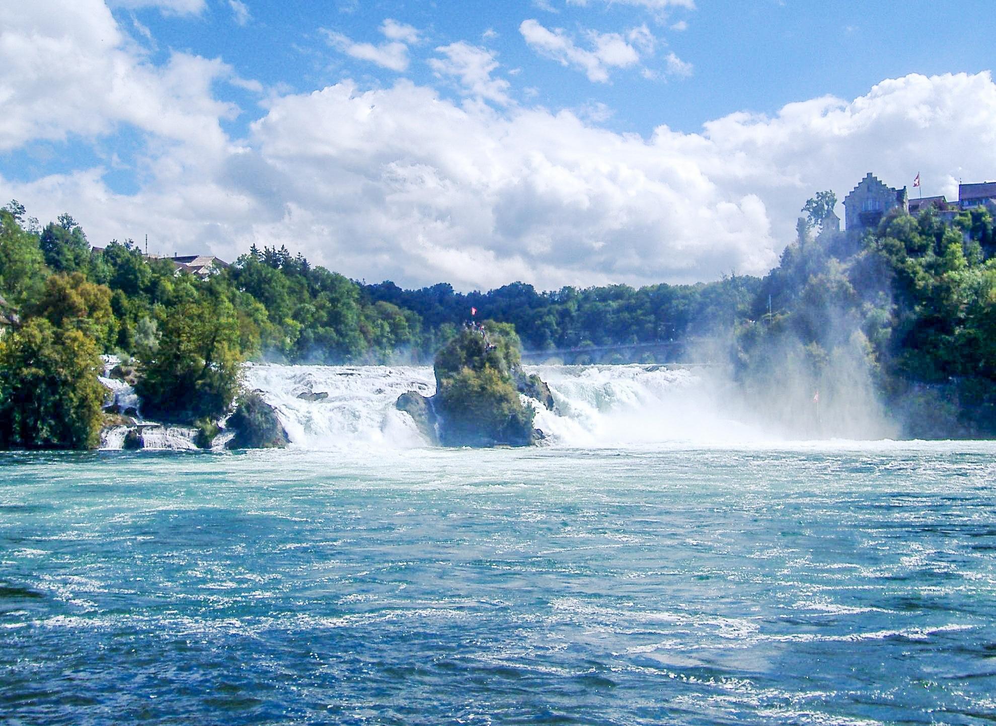 Rhine Falls, Neuhausen am Rheinfall, Canton of Zurich, Switzerland