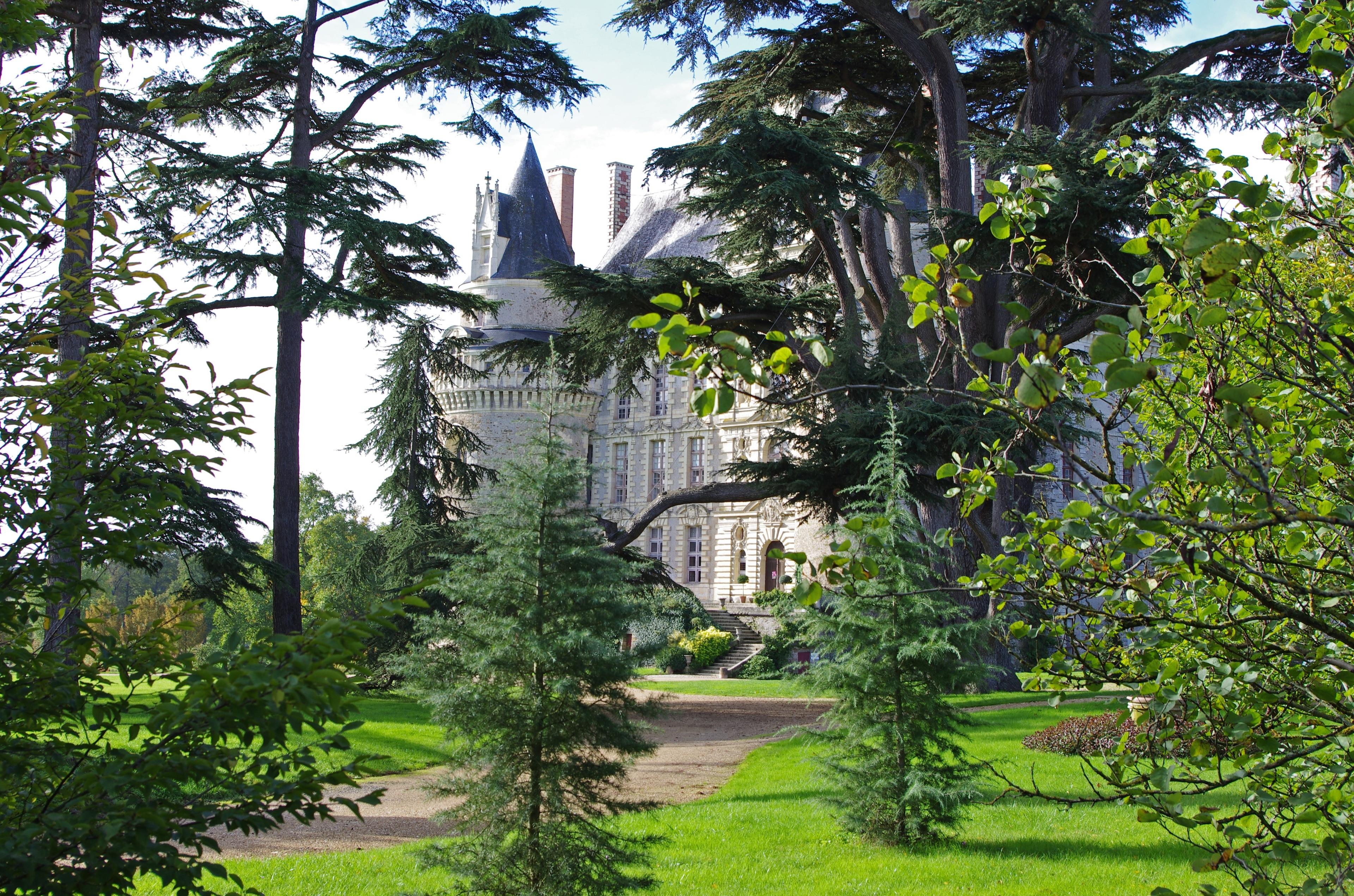 Château de Brissac, Brissac Loire Aubance, Département Maine-et-Loire, Frankreich