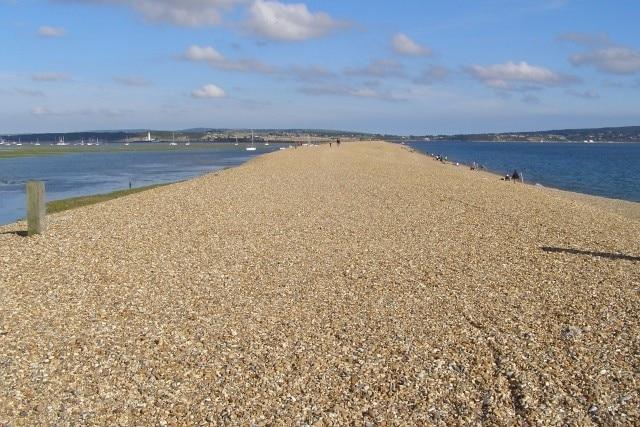 Hurst Beach, Lymington, England, United Kingdom