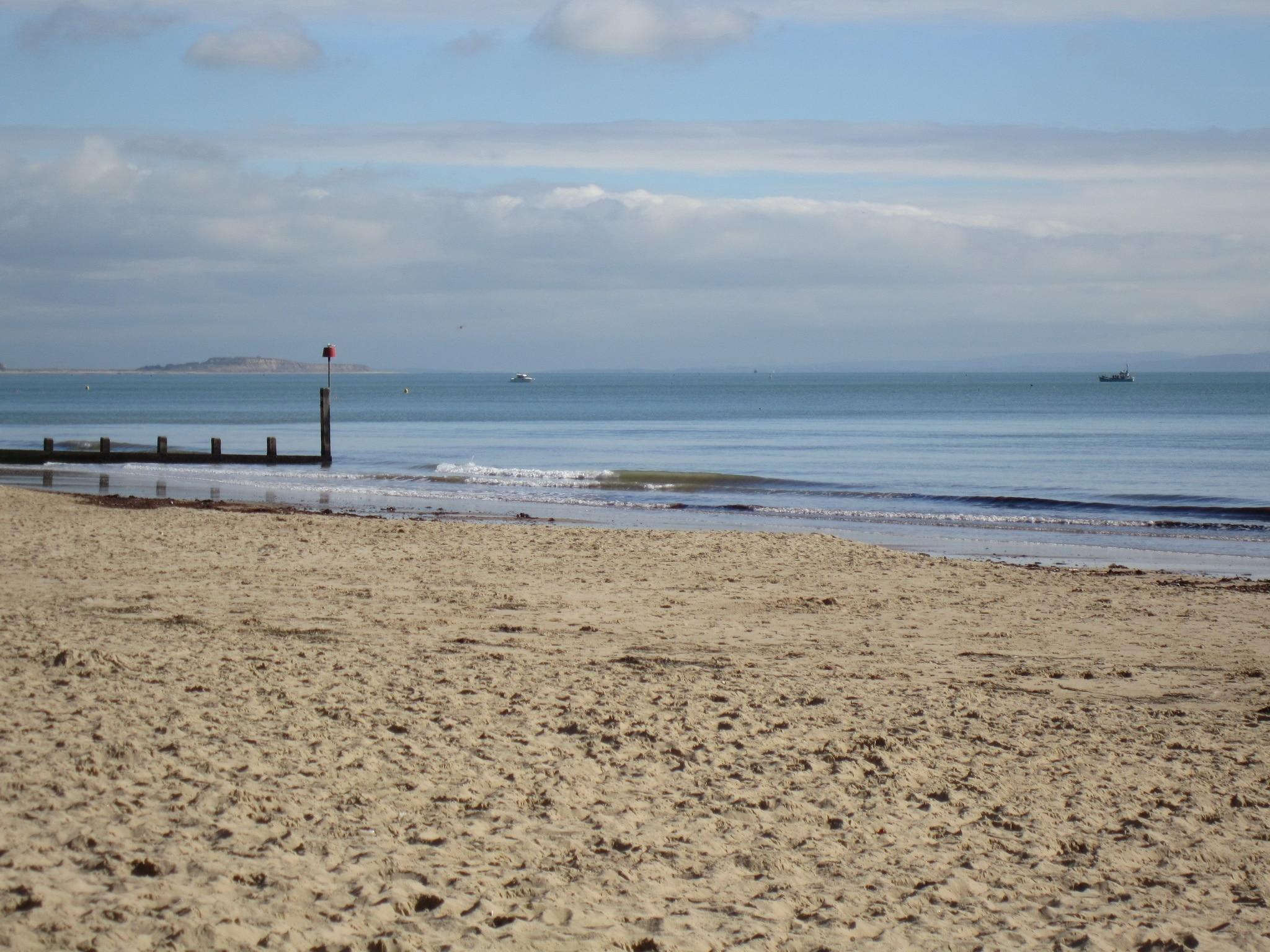Alum Chine Beach, Bournemouth, England, United Kingdom
