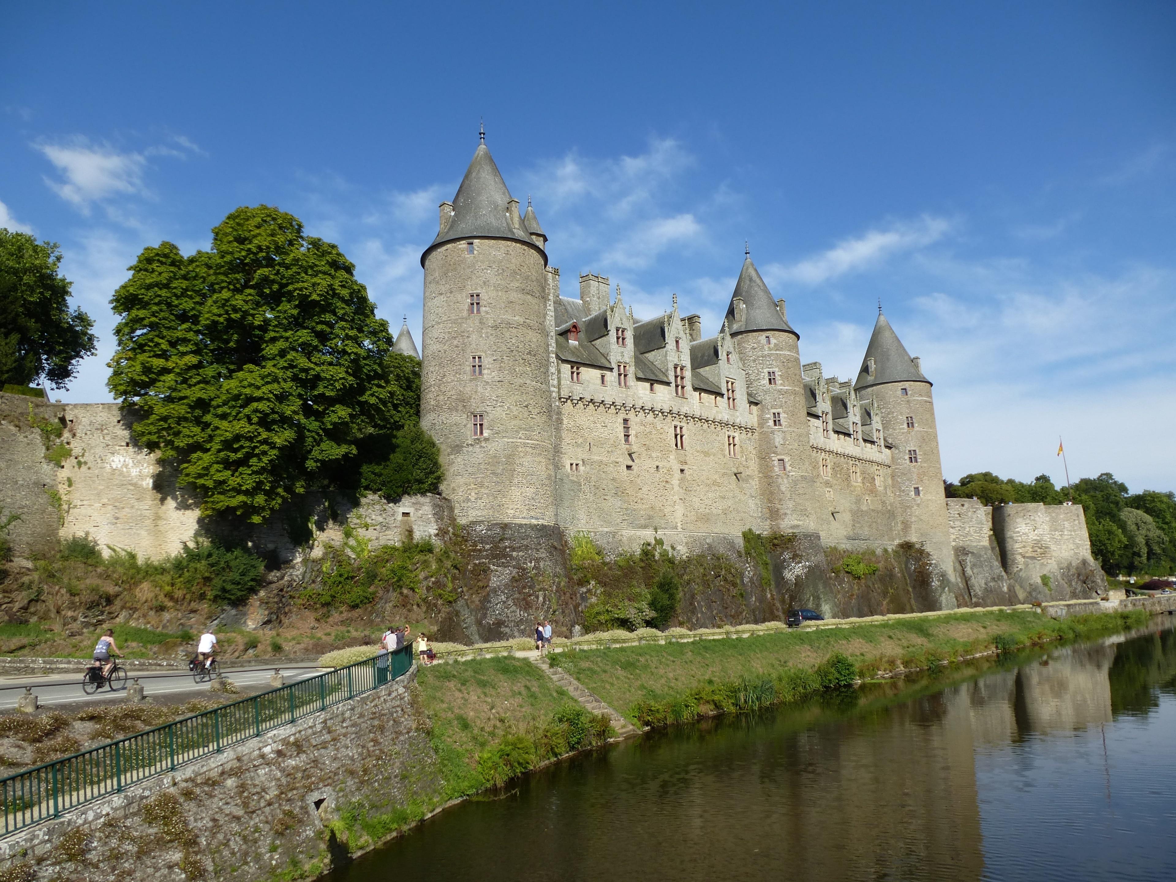 Josselin Chateau, Josselin, Morbihan, France