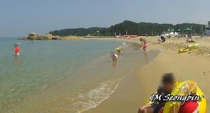 하조대 해수욕장