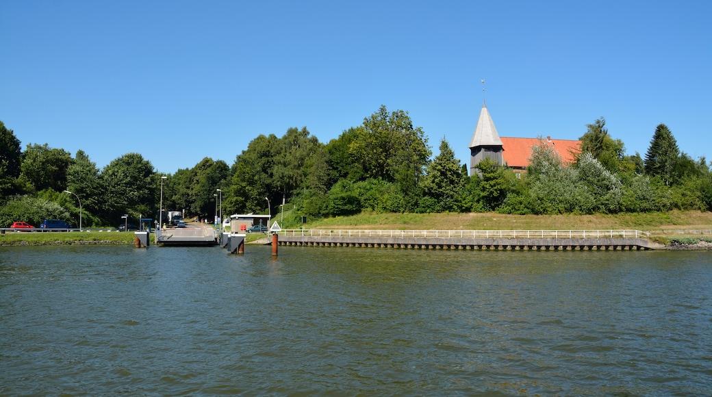 """Foto """"Nord-Ostsee-Kanal"""" von Nightflyer (CC BY)/zugeschnittenes Original"""
