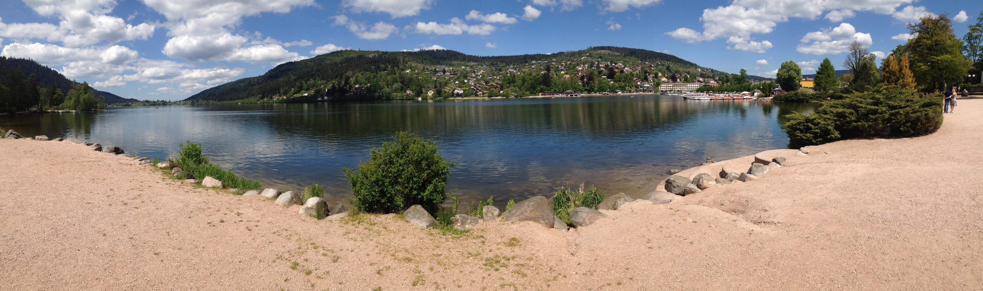 Lac de Gérardmer, Gerardmer, Vosges, France