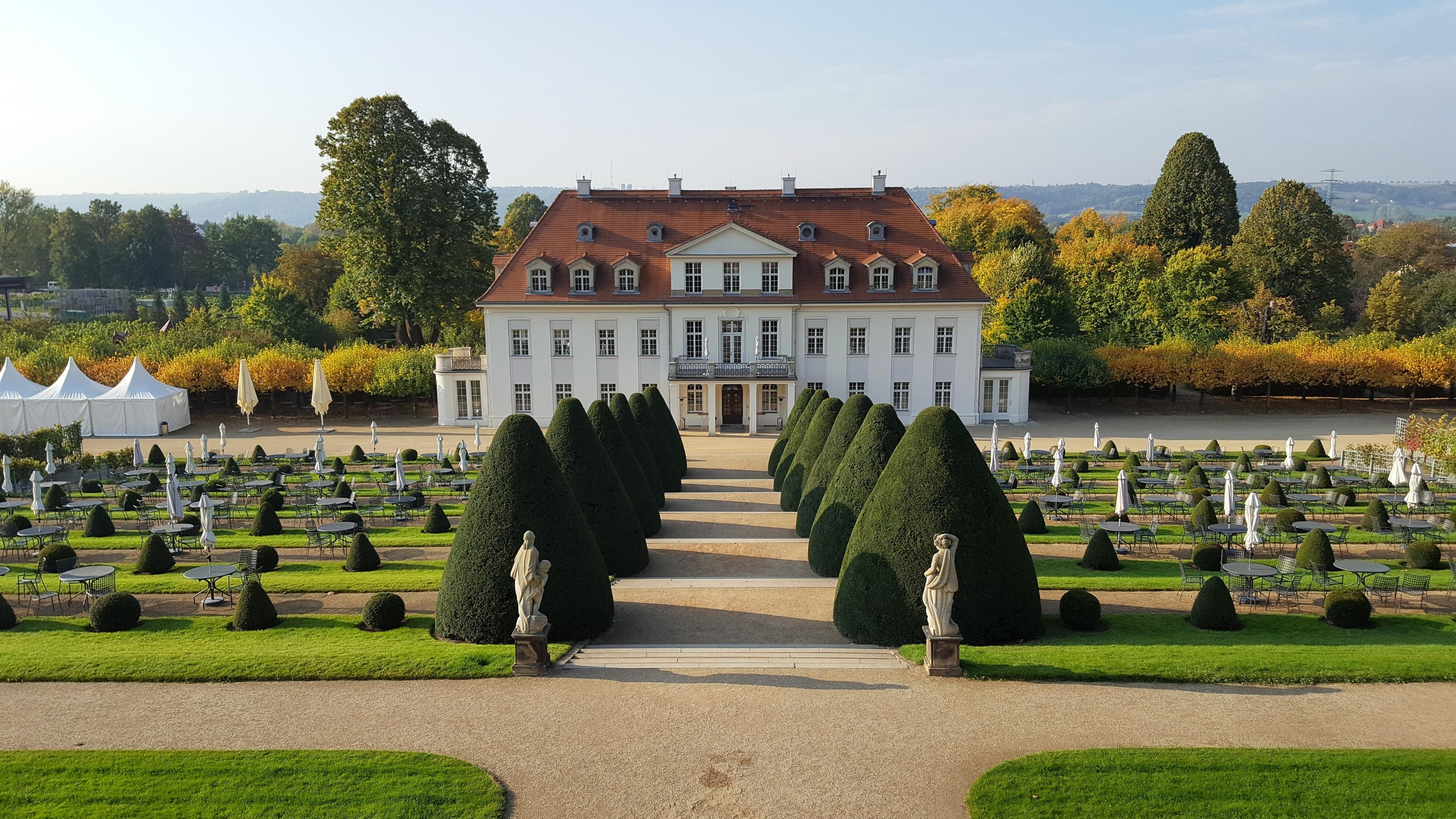 Schloss Wackerbarth, Radebeul, Sachsen, Deutschland