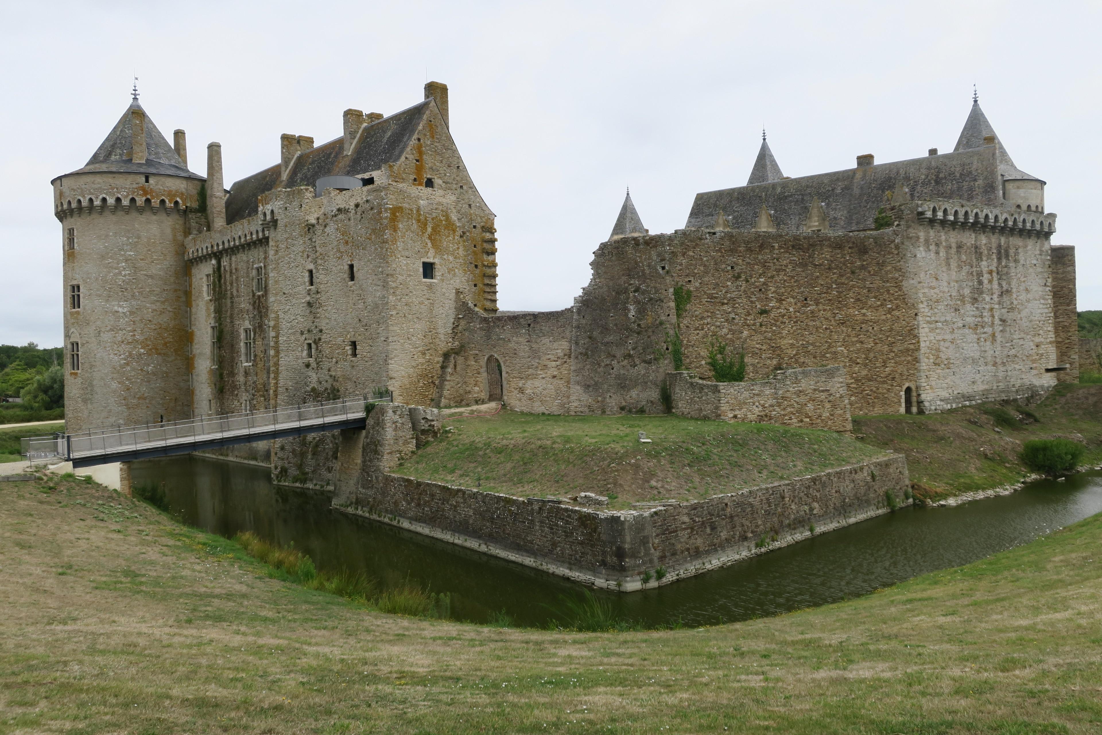 Château de Suscinio, Sarzeau, Morbihan, Frankreich