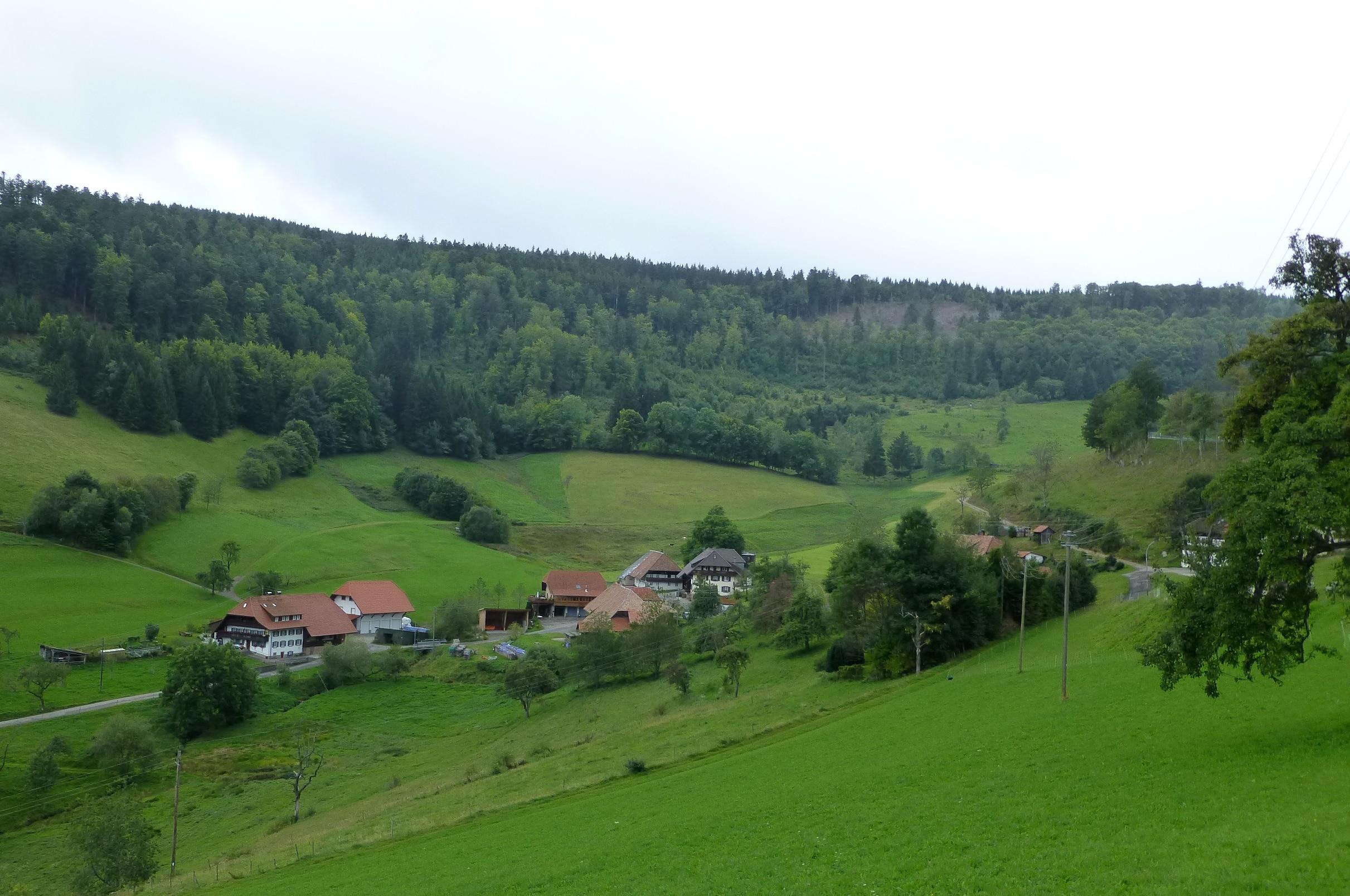 Kleines Wiesental, Baden-Württemberg, Deutschland