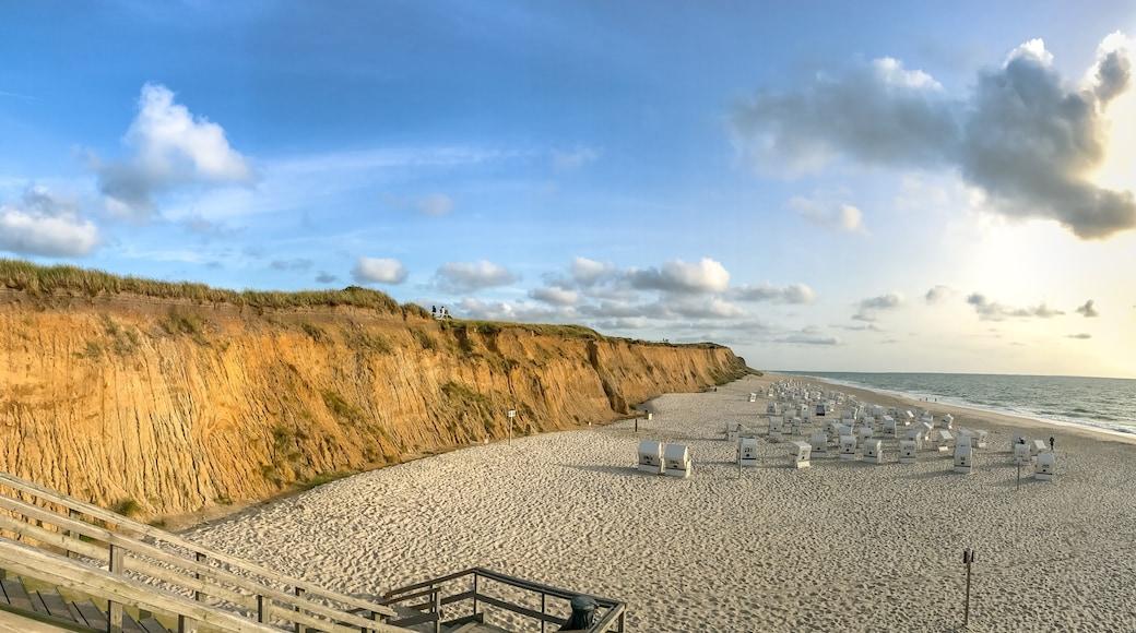 """Foto """"Strand von Kampen"""" von dronepicr (CC BY)/zugeschnittenes Original"""