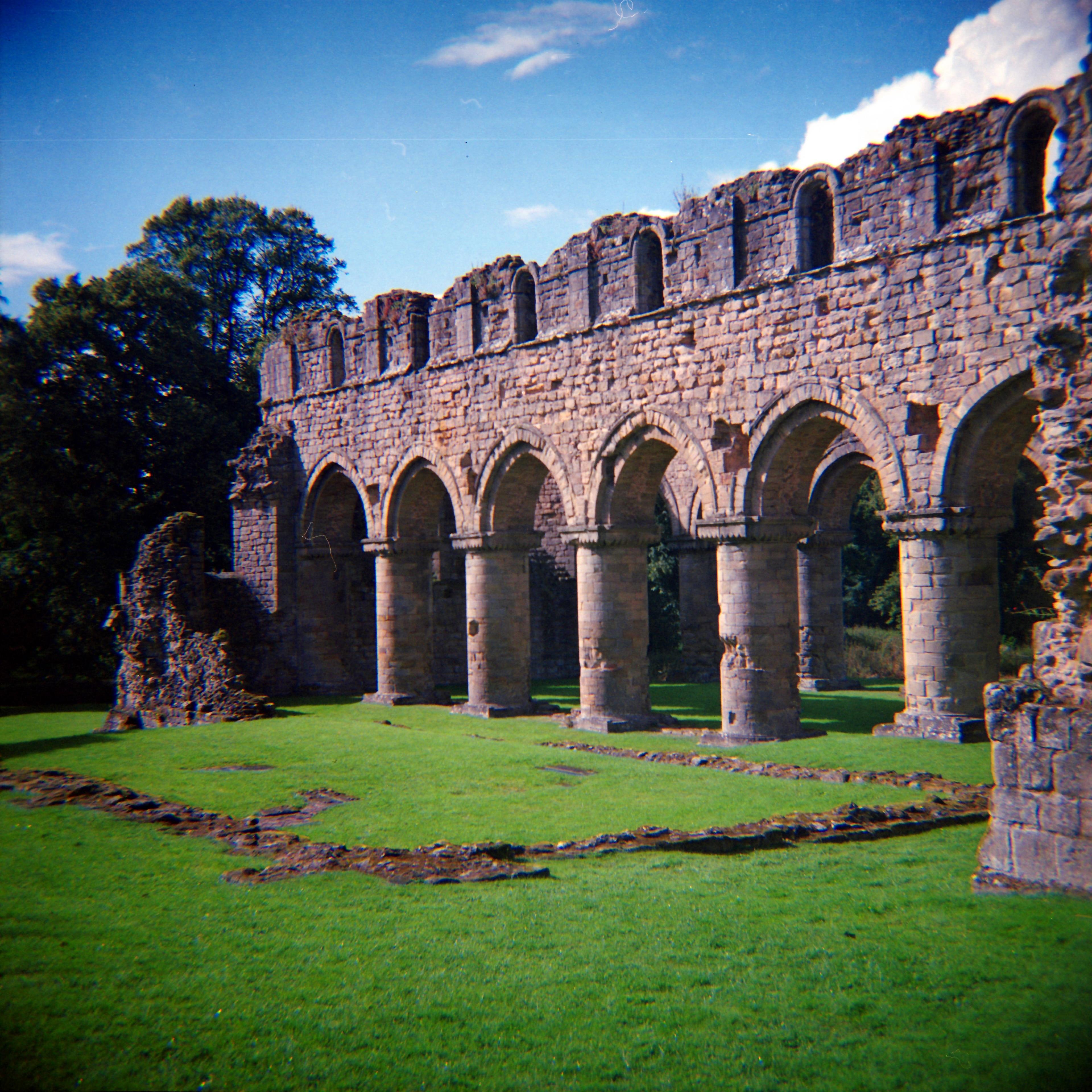 Buildwas Abbey, Telford, England, Großbritannien