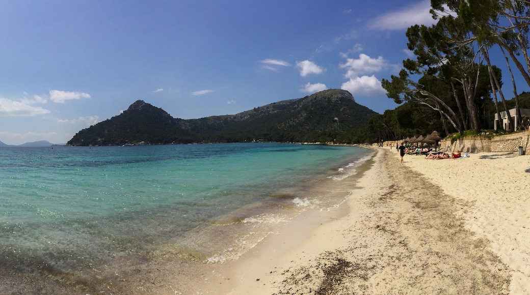 """Photo """"Formentor Beach"""" by dronepicr (CC BY) / Cropped from original"""